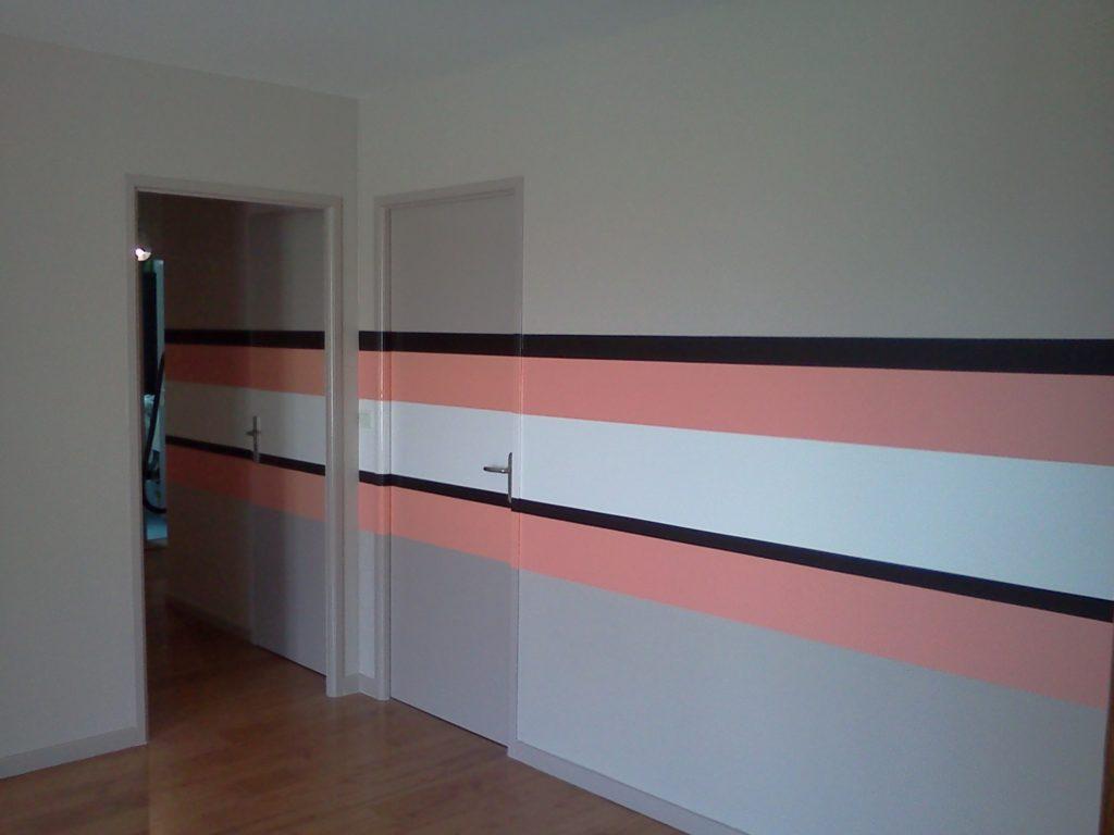 Les travaux préparatoires du peintre bâtiment